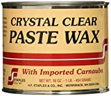 Staples 211 Carnauba Paste Wax, 1-Pound, Clear