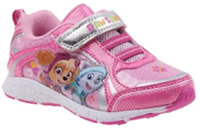 3ce0ad3dcad1 Nickelodeon Toddler Girl s PAW Patrol Pink Blue Light-Up Shoes (7 M US