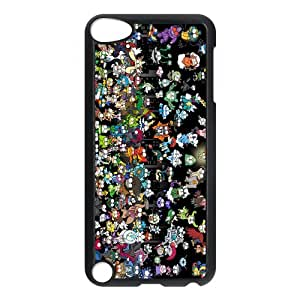 Pokemon Customize iPod 5 Protective Hard Plastic Shell Cover Case Suit For iPod Touch 5th Generation