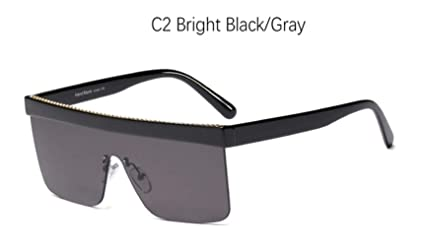 Cranky Naranja Negro Grandes Gafas de Sol Hombre Vintage ...