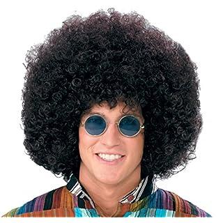 Forum Novelties Wig-Jumbo Hippie Fro-black, black
