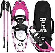 ALPS Snowshoes Set for Men,Women,Youth with Trekking Poles and Carrying Tote Bag