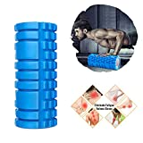 Cheap Foam Roller -Friendly EVA Foam Rollers for Physical Therapy ,Pain Relif,Blood Circulation, Ideal Use for CrossFit, Yoga & Pilates (Blue)