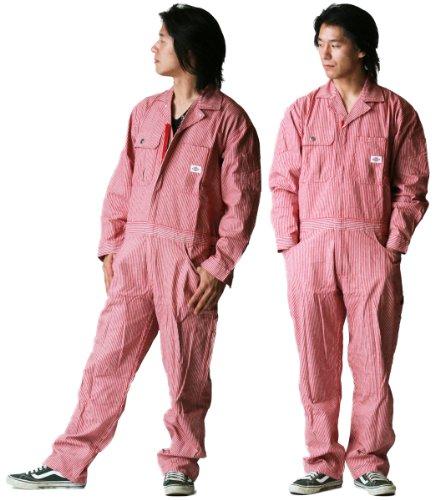 디 키즈 Dickies (야마다 辰) 올 시즌 용 ヒッコリ?ツヅキ 옷 801 레드 S 사이즈 / Dickies Dickies (Tatsu Yamada) All SeasonHickory Tzuki Clothing 801 Red S Size