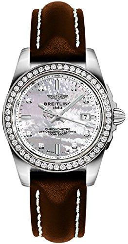 Breitling Galactic 32 Sleek Edition Women's Watch A7133053/A801-411X
