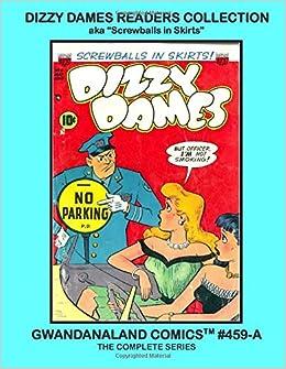 Dizzy Dames Comic book Poster