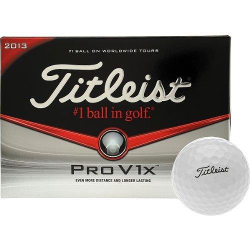 Titleist Pro V1x Golf Balls (Pack of 12), Outdoor Stuffs
