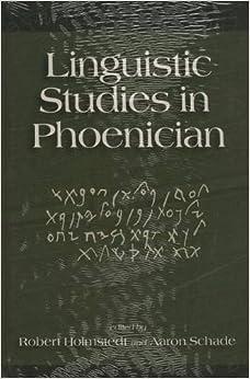 Linguistic Studies in Phoenician