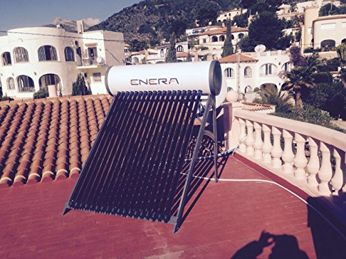 Calentador de agua solar para ACS (termosifón), HEAT PIPE, depósito 180 L, para 3 personas, tubos de 58mm x 1800mm: Amazon.es: Bricolaje y herramientas