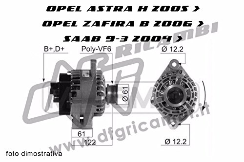 Alternator Pulley with FRIZIONATA Ina 71746673 - A4048: