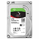Seagate 2TB IronWolf Pro 7200RPM SATA 6Gb/s 128MB Cache 3.5-Inch NAS Hard Disk Drive (ST2000NEB025)
