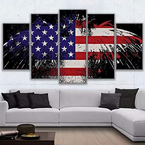 Grace Painter 5D Diamond Painting,Counted Cross Stitch,Rhinestone Painting,American Flag,Paint by Numbers for Kids Art and Craft for Wall Decor,Home Decor by Grace Painter (Image #3)