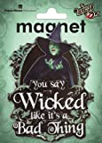 Paper House Productions MDM-0004E 3-Pack 3D Magnets, Oz-Wicked Witch Magnet