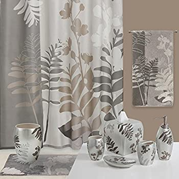 Excellent Brown And Grey Shower Curtain Gallery - Best Image ...