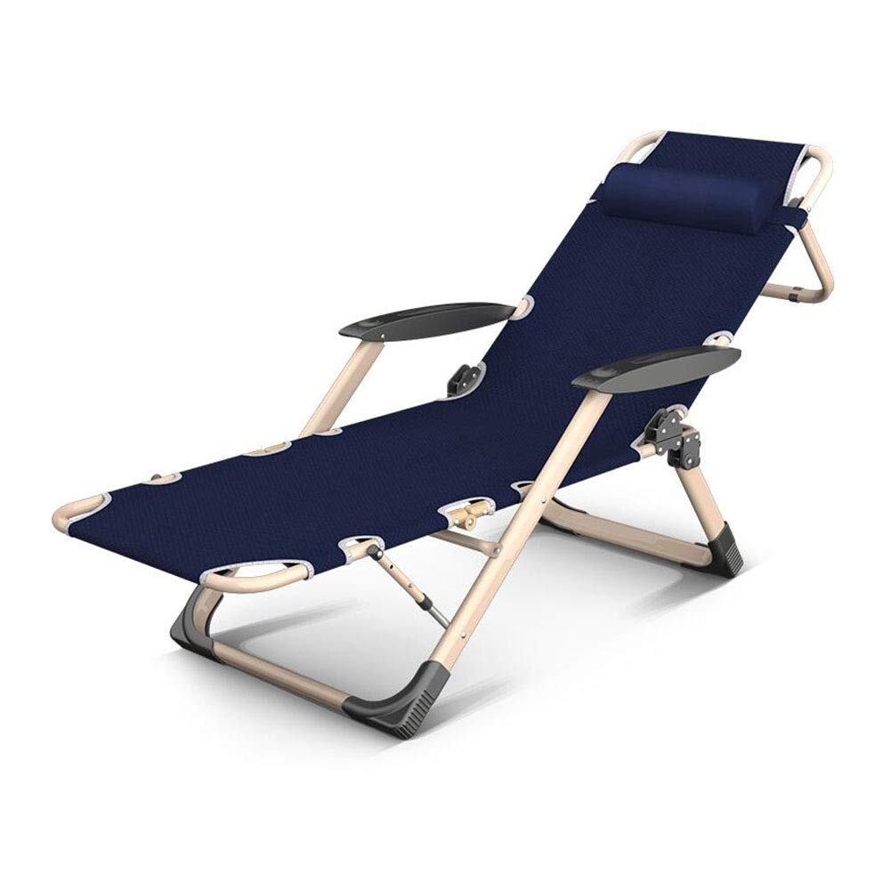 T1 GAIXIA Recliner Foldable Adjustable Headrest Home Office Nap Garden Camping Lounge Chair (color   T4)