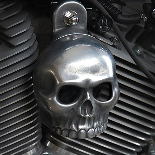 Chrome Dome Skull Horn Cover with Stebel Nautilus Bundle (Magnum)