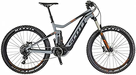Scott E-Genius 720 - Bicicleta eléctrica de montaña, color gris ...