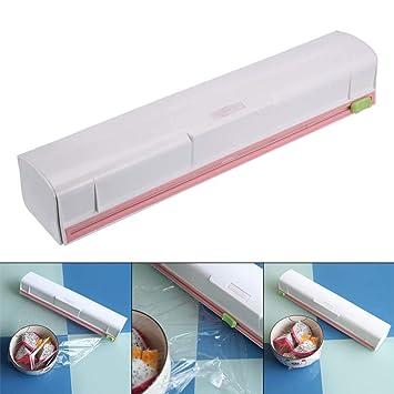 Amazon.com: Belegend Food Wrap Dispenser Plastic Cutter Foil ...