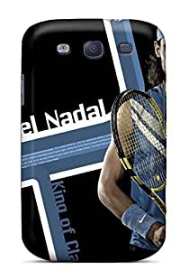 Durable Case For The Galaxy S3- Eco-friendly Retail Packaging(rafael Nadal)