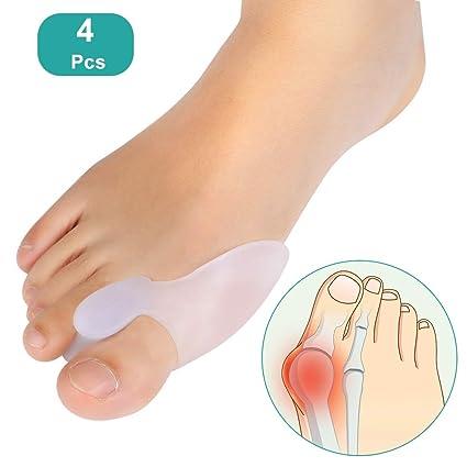 Gel kit de protección para juanetes de dedo gordo del pie para hombres y mujeres,
