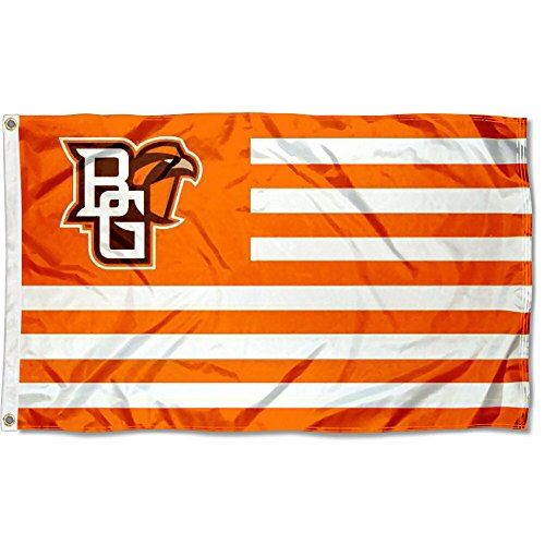 BGSU Falcons Stars and Stripes Nation College Flag