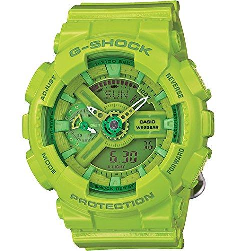 Casio - G-Shock - S-Series - Lime Green - GMAS110CC-3A