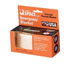 Grabber Emergency Space Blanket, Gold by Grabber