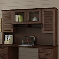 kathy ireland Office by Bush Furniture KI30326-03 Volcano Dusk 68W Hutch, Coastal Cherry