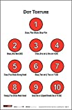EZ2C Targets Style 17 (25 Count) Dot Torture Training Shooting Drill