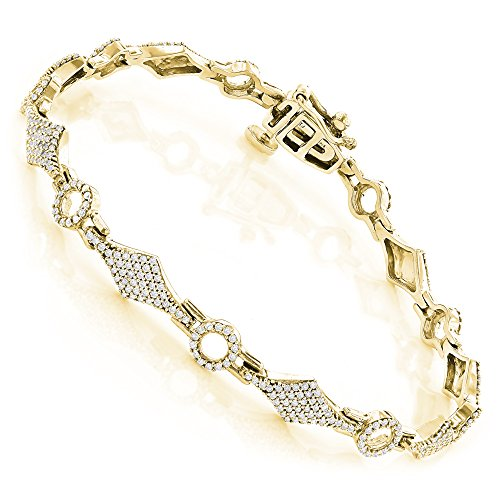 Diamond 18k Gold Bracelet - 2