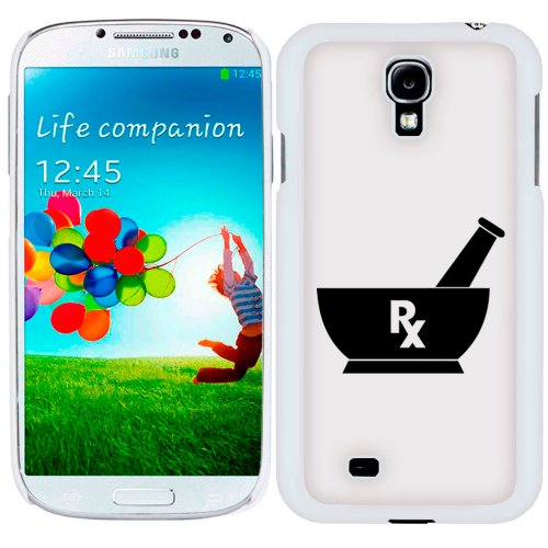 Samsung Galaxy S4 Silhouette Pharmacist Pharmacy RX Case