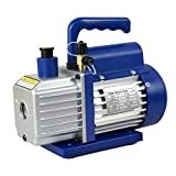 Super Deal 4CFM 1/3HP Electric Vacuum Pump VP135 Refrigerant R410a HVAC Deep Vane Air Conditioner