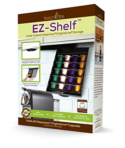 EZ-Shelf for Nespresso by Perfect Pod