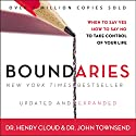 Boundaries: When to Say Yes, How to Say No to Take Control of Your Life Hörbuch von John Townsend, Henry Cloud Gesprochen von: Henry O. Arnold