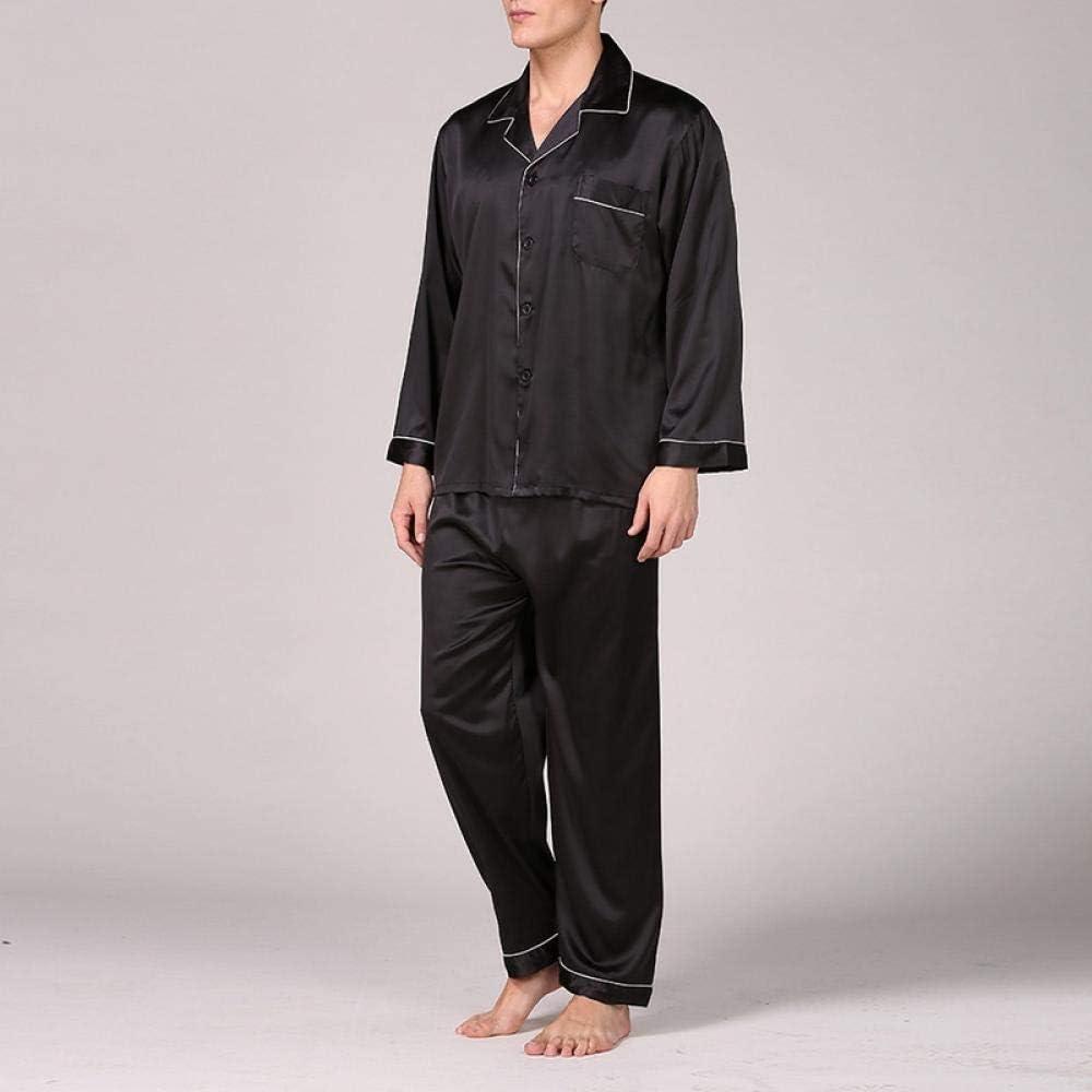 Zara Lew Nuevos Hombres S Stain Silk Pyjama Set Men Silk ...