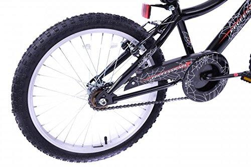 Professional Spider Boys 20 Wheel Boys Kids BMX Bike Spiderman Style Web Graphics Black