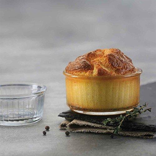 Duralex Verre clair Dessert / Crème Brûlée / Ingrédients Ramekins - 85mm - Paquet de 8
