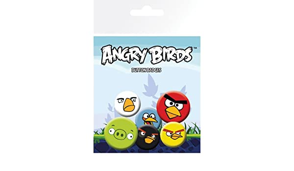 GB eye LTD,Angry Birds Mix - Pack de Chapas: Amazon.es: Hogar