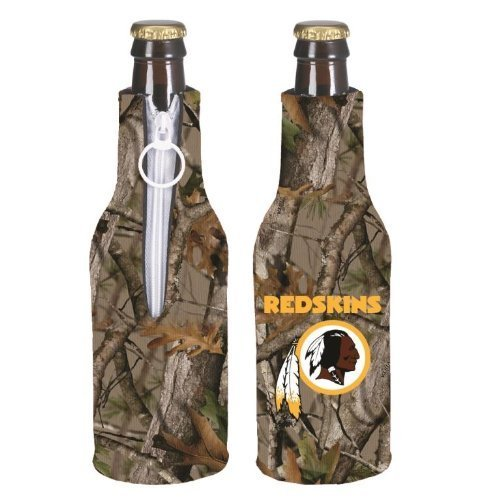 (NFL Football Vista Camo Bottle Suit Koozie Holder 2-Pack - Pick Team! (Washington Redskins))