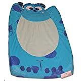 Kids Line Monsters INC. Velour Infant Boys Changing Pad Cover Blue
