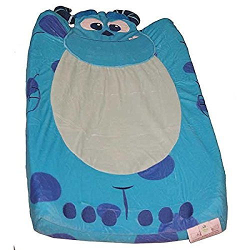 Kids Line Monsters INC. Velour Infant Boys Changing Pad Cover Blue (Monsters Inc Crib Bedding compare prices)