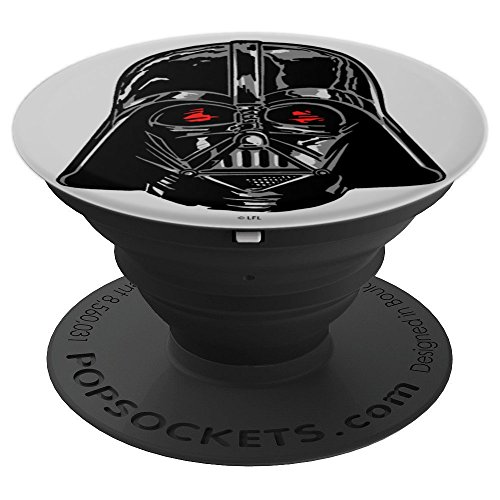 Star Wars Darth Vader Shiny Helmet - PopSockets Grip and Stand for Phones and Tablets