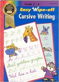 Cursive Writing (Wipe-Off Workbooks) (2003-06-03)