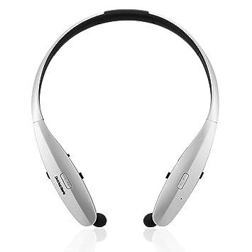 Ikakabek - Auriculares inalámbricos Bluetooth V4.1 magnéticos inalámbricos con micrófono para iPhone X 8 7 6 Plus, iPad, Samsung S8 S7 S6 y Otros teléfonos ...