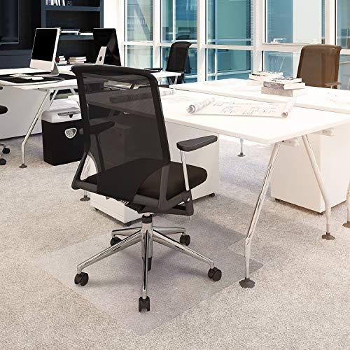 FLOORTEX 의자 매트 36X48 플러시 파일 카펫(FC119240LV)