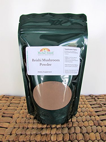 Reishi Mushroom Powder 1 Kg or 2.2 LB (Ganoderma lucidum) Free Shipping