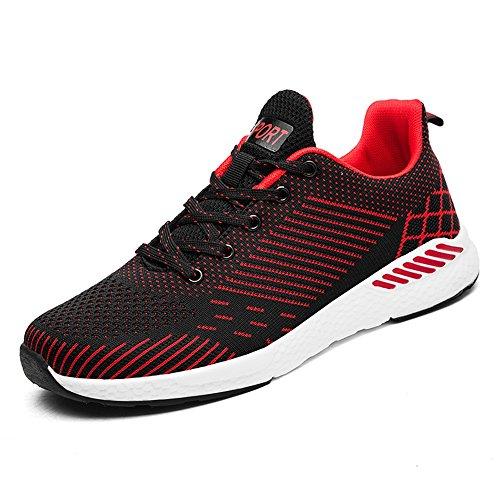 43 5 Mocassini shoes Red Rosso Shufang EU Uomo wFzX6q11Z