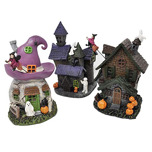 Darice 30013853 Miniscape Halloween House, 4 X 7.5