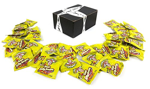Warheads Sour Jelly Beans Candy, 0.53 oz Snack Packs in a Bl