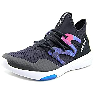 Reebok Women's Hayasu Black/Wild Blue/White Training Shoe 6 Women US